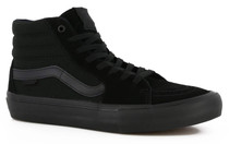 Vans Sk8-Hi Pro Shoes (Blackout) in black at Albe's BMX Online