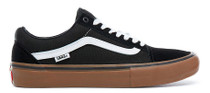 Vans Old Skool Pro Shoes (Black / Gum) at Albe's BMX Online