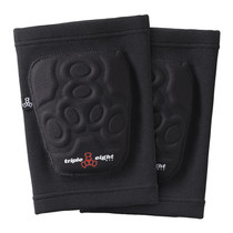 Triple 8 Covert Knee Pads in black at Albe's BMX Online