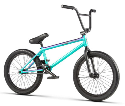 Radio Valac Bike 2020 in mint and purple at Albe's BMX Online