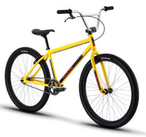Redline PL-26 Bike 2019 in yellow at Albe's BMX Online