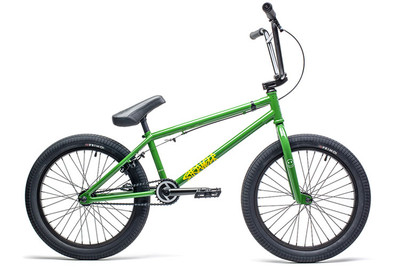 Stranger Spitfire Bike 2020 in green at Albe's BMX Online