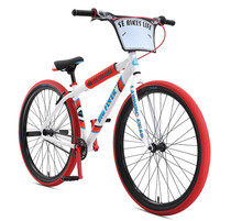 "SE Bikes Big Flyer 29"" Bike 2020 in White at Albe's BMX Online"