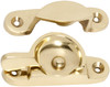 Sash Fastener - Polished Brass