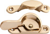 Sash Fastener - Narrow - Polished Brass