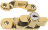 Sash Fastener - Key Operated - PVD - Polished Brass