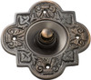 Bell Push - 90x90mm - Antique Copper
