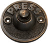 Bell Push 'Press' - 63mm - Antique Copper