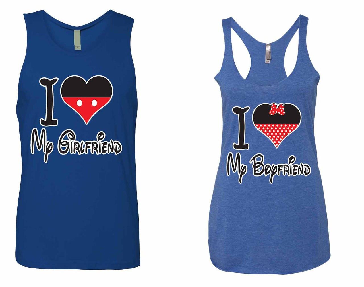I Love My Girlfriend Jersey I Love My Boyfriend Tank Top Couples