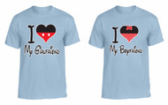 I love My Girlfriend I love My boyfriend couples gifts t shirt