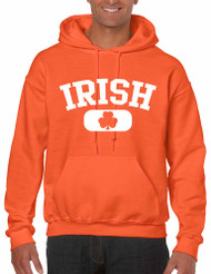 IRISH SHAMROCK men Hooded Sweatshirt