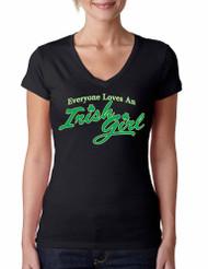 Everyone loves an Irish girl Sporty Tee Shirt
