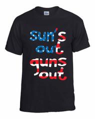 Suns Out USA Women T-Shirts