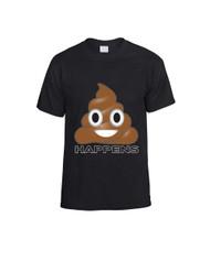 EMOJI Shit happens Women T-Shirts