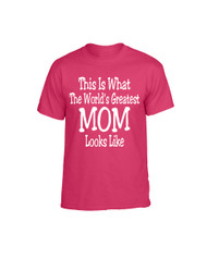 Mothers day Worlds greatest mom Women T-Shirts