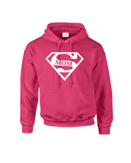 Mothers day super mom Women Hooded Sweatshirt