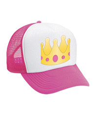 Emoticon Crown Valucap Foam Trucker Cap