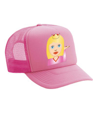 Emoticon Princess Valucap Foam Trucker Cap