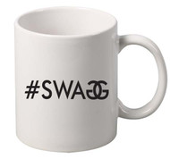 Swag BLACK coffee tea mugs gift