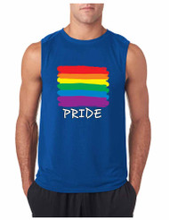 PRIDE GYM Adult Sleeveless T Shirt
