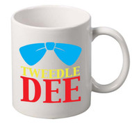 Tweedle Dee coffee tea mugs gift