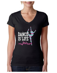 Dance Is Life AZTECK Sporty Tee Shirt