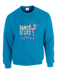 Dance Is Life AZTECK Women Sweatshirt