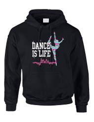 Dance Is Life AZTECK Women Hooded Sweatshirt