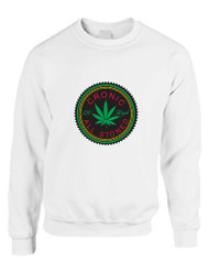 Marijuana Cannabis Chronic All Stoned Women Sweatshirt