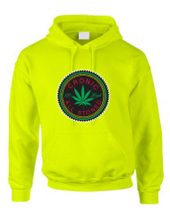 Marijuana Cannabis Chronic All Stoned Women Hooded Sweatshirt