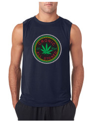 Marijuana Cannabis Chronic All Stoned GYM Adult Sleeveless T Shirt