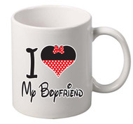 i love my boyfriend coffee tea mugs gift