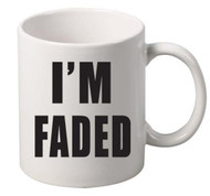 Im faded coffee tea mugs gift