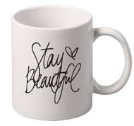 Stay Beautiful coffee tea mugs gift