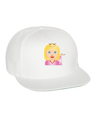 Emoji Princes Flat Bill Cap gift