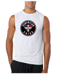 DOMINICAN PRIDE GYM Adult Sleeve less T Shirt