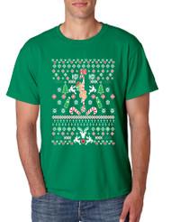 HO HO HO Christmas Stripper Christmas men T-Shirts
