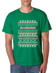 Merry Fucking Christmas men T-Shirts