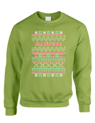 Merry Fucking Christmas Women Sweatshirt