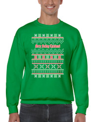 Merry Fucking Christmas Men Sweatshirt