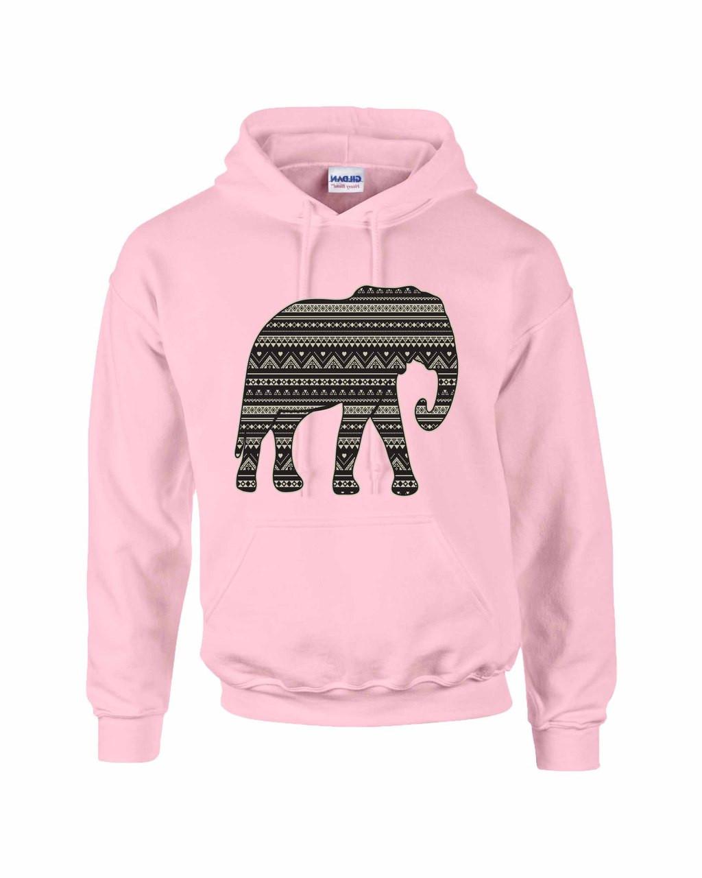 505ba14623dde6 Elephant Women Hooded Sweatshirt. Price   24.99. Image 1