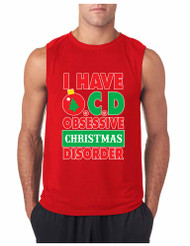Obsessive christmas disorder GYM Adult Sleeve less T Shirt