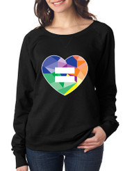 Equal Heart PRIDE Ladies Long Sleeve