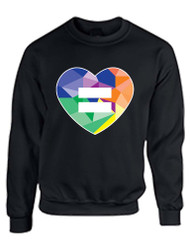 Equal Heart PRIDE Women Sweatshirt