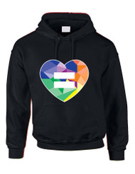 Equal Heart PRIDE Women Hooded Sweatshirt