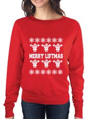 Merry Liftmass Ladies Long Sleeve Pullover