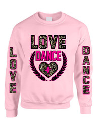 Love dance Women Sweatshirt