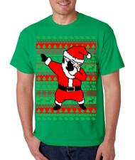 Dabbing Santa Claus Merry christmas gift men T-Shirts
