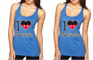 love my Girlfriend, Gays, Lesbians, couples Tank Tops