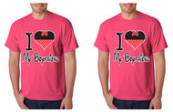 I love my boyfriend Gays, Lesbians, couples Tshirts
